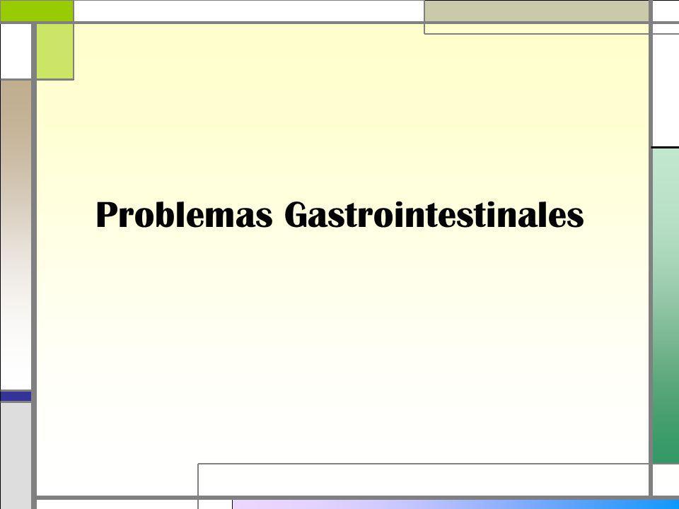 Problemas Gastrointestinales