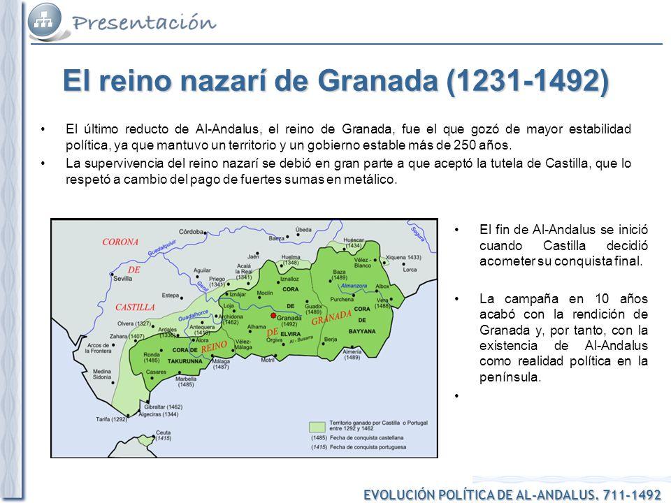 El reino nazarí de Granada (1231-1492)
