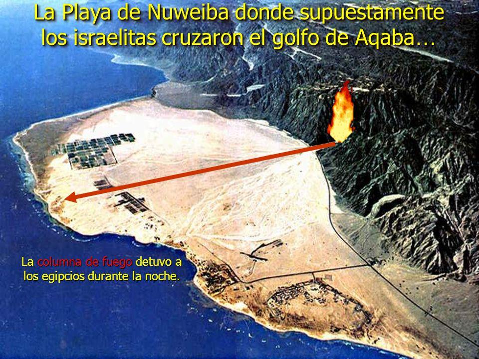La columna de fuego detuvo a los egipcios durante la noche.