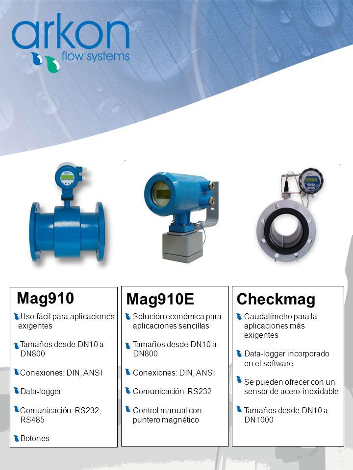 Mag910 Mag910E Checkmag Uso fácil para aplicaciones exigentes