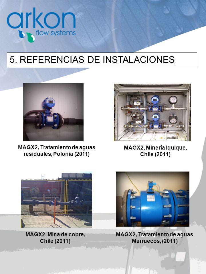 5. REFERENCIAS DE INSTALACIONES
