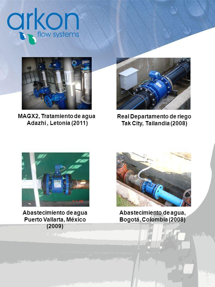 MAGX2, Tratamiento de agua Adazhi , Letonia (2011)
