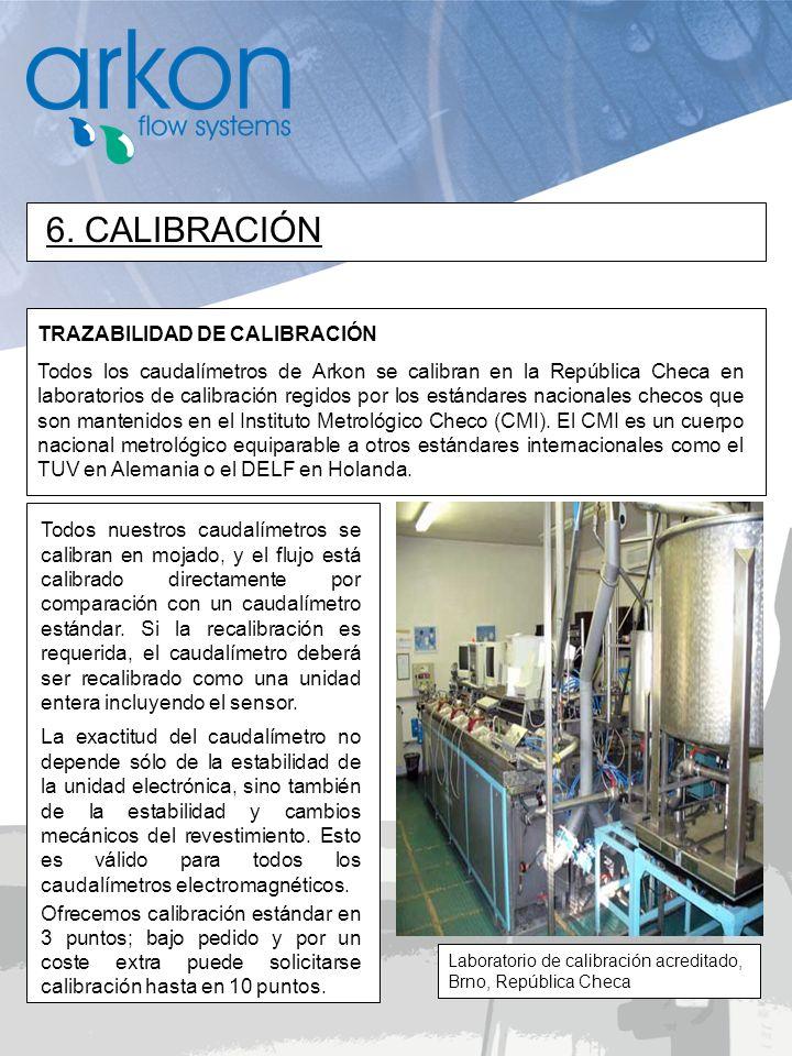 6. CALIBRACIÓN TRAZABILIDAD DE CALIBRACIÓN