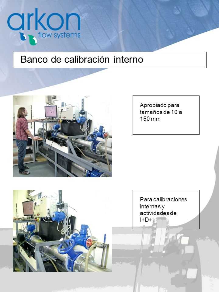 Banco de calibración interno