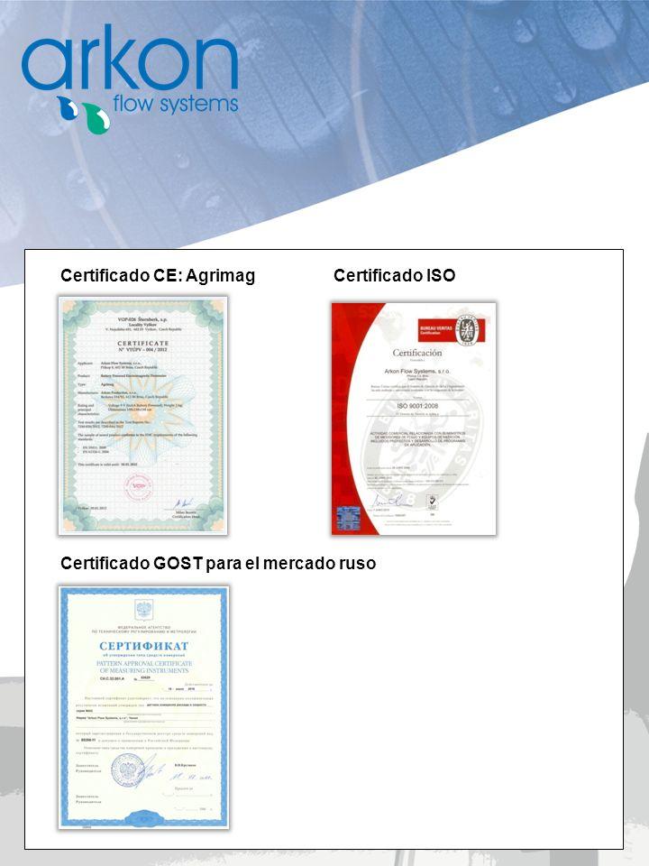Certificado CE: Agrimag