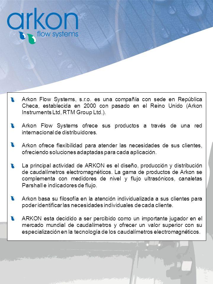 Arkon Flow Systems, s.r.o. es una compañía con sede en República Checa, establecida en 2000 con pasado en el Reino Unido (Arkon Instruments Ltd, RTM Group Ltd.).