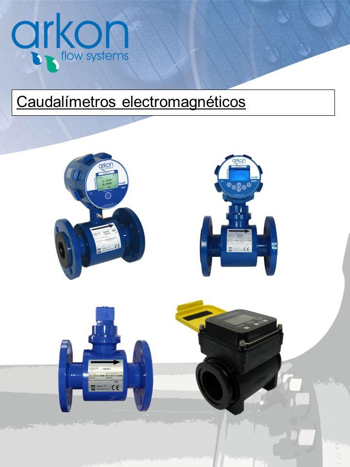 Caudalímetros electromagnéticos