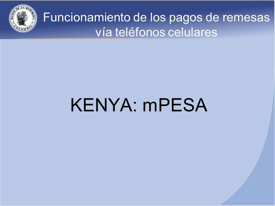 Funcionamiento de los pagos de remesas vía teléfonos celulares