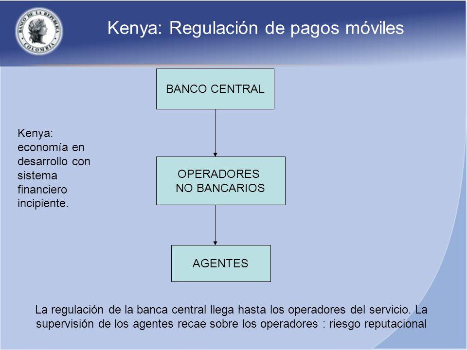 Kenya: Regulación de pagos móviles