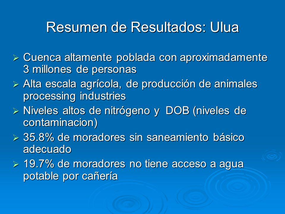 Resumen de Resultados: Ulua
