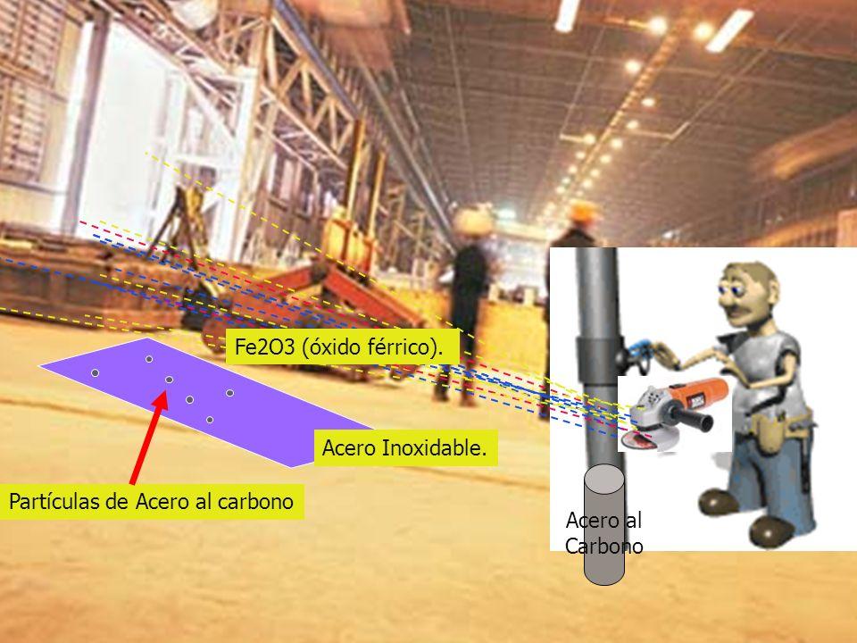 Partículas de Acero al carbono