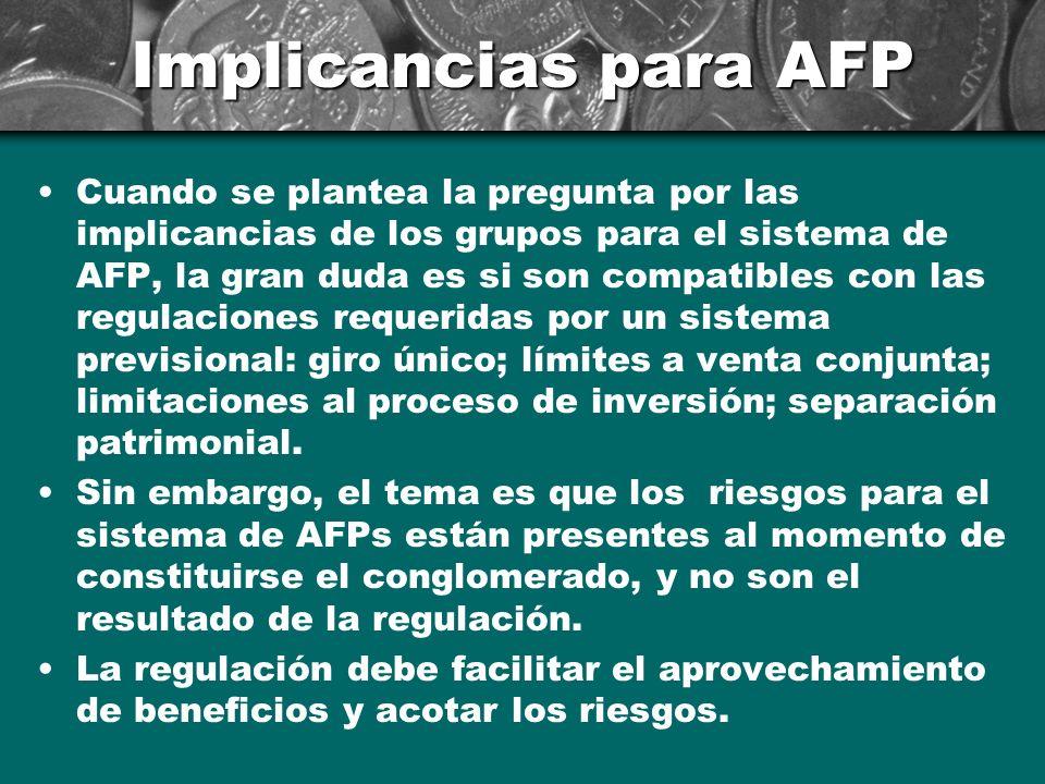 Implicancias para AFP