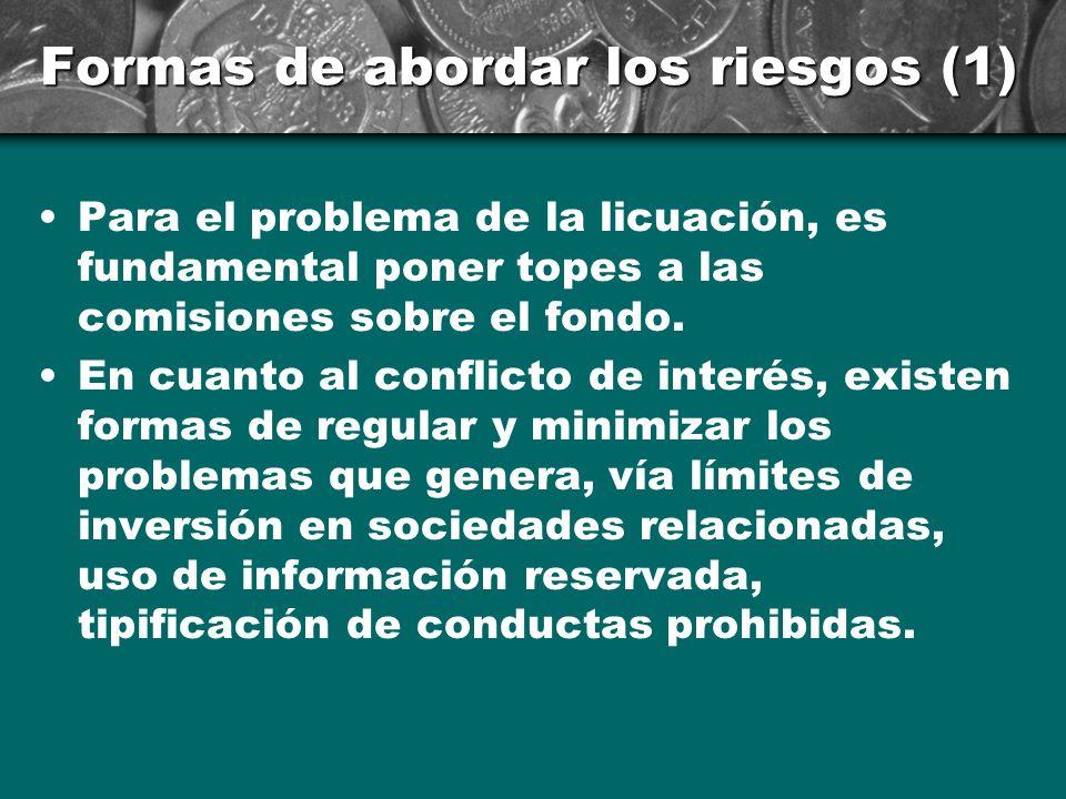 Formas de abordar los riesgos (1)