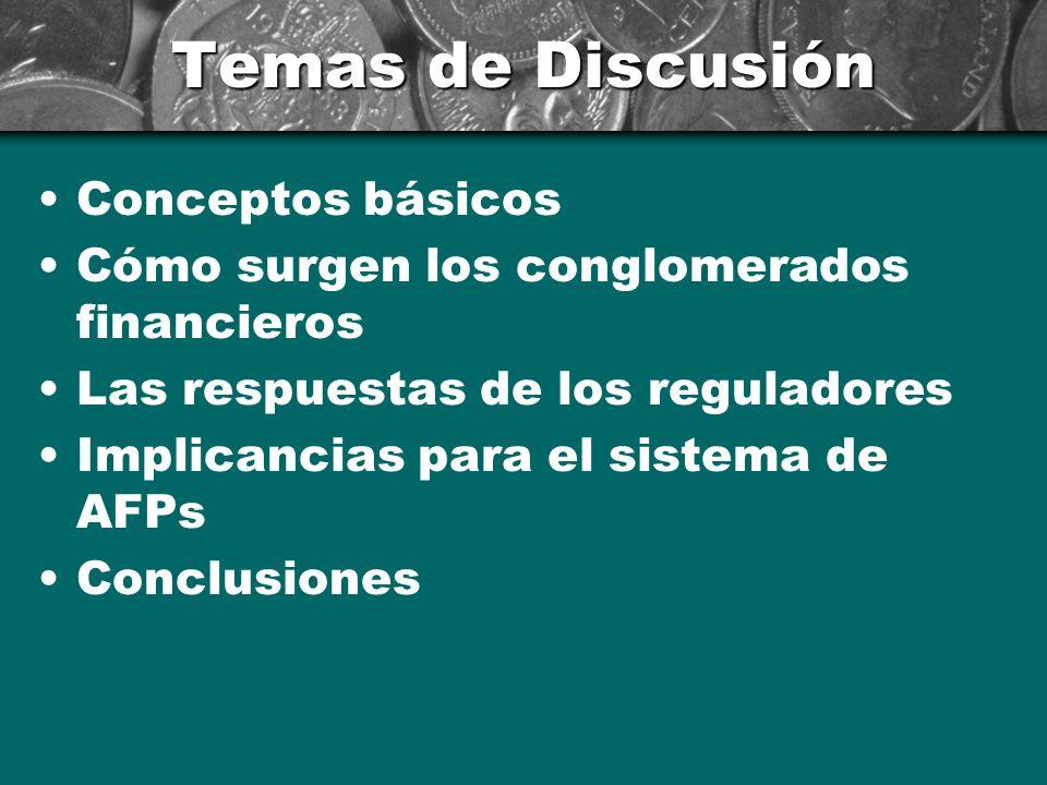 Temas de Discusión Conceptos básicos