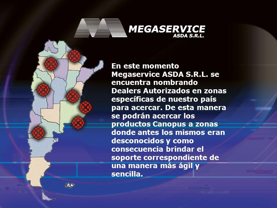En este momento Megaservice ASDA S. R. L