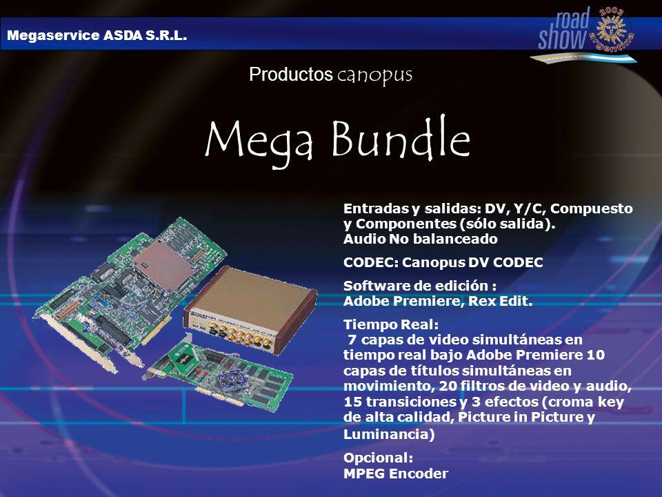 Mega Bundle Productos canopus Megaservice ASDA S.R.L.