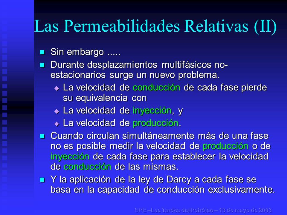 Las Permeabilidades Relativas (II)