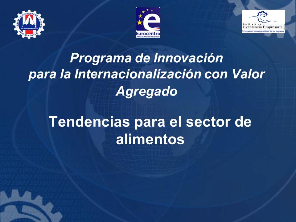 Programa de Innovación para la Internacionalización con Valor Agregado