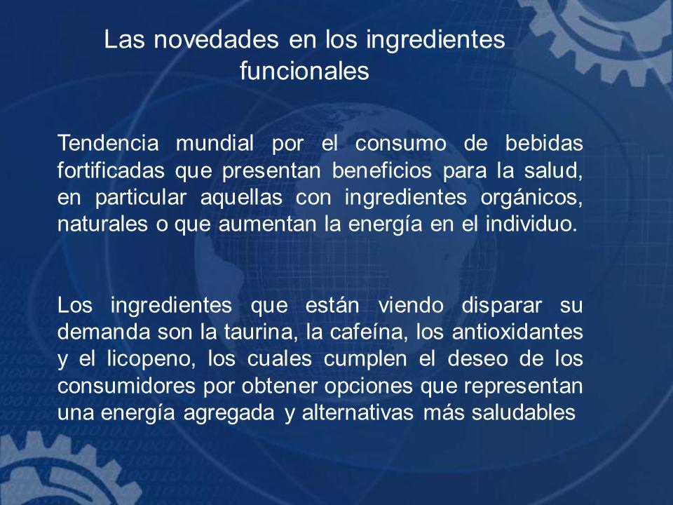 Las novedades en los ingredientes funcionales