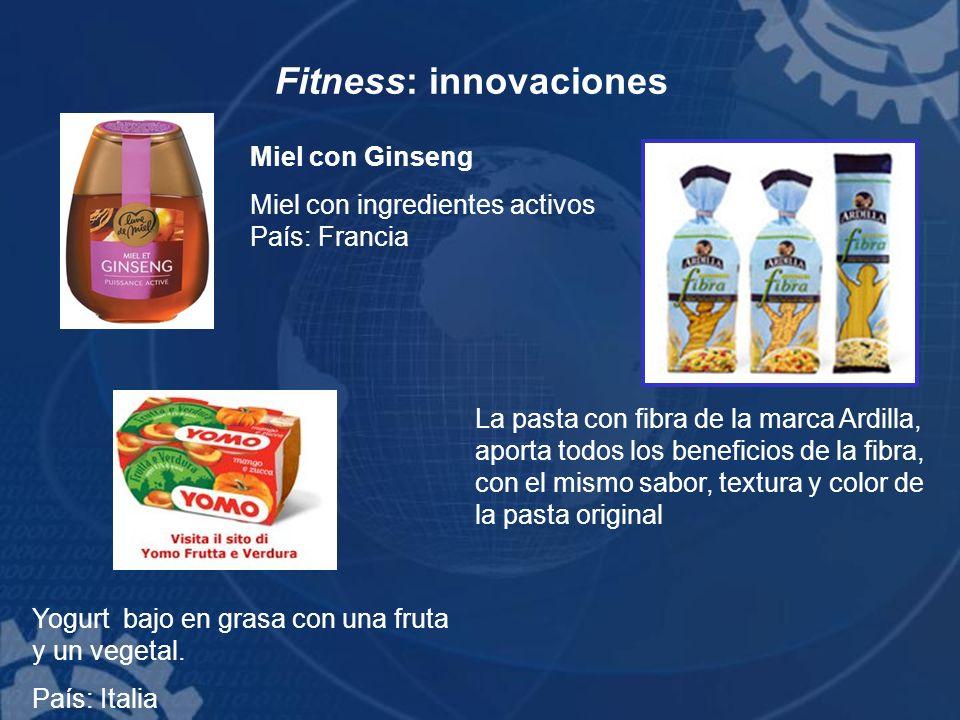 Fitness: innovaciones