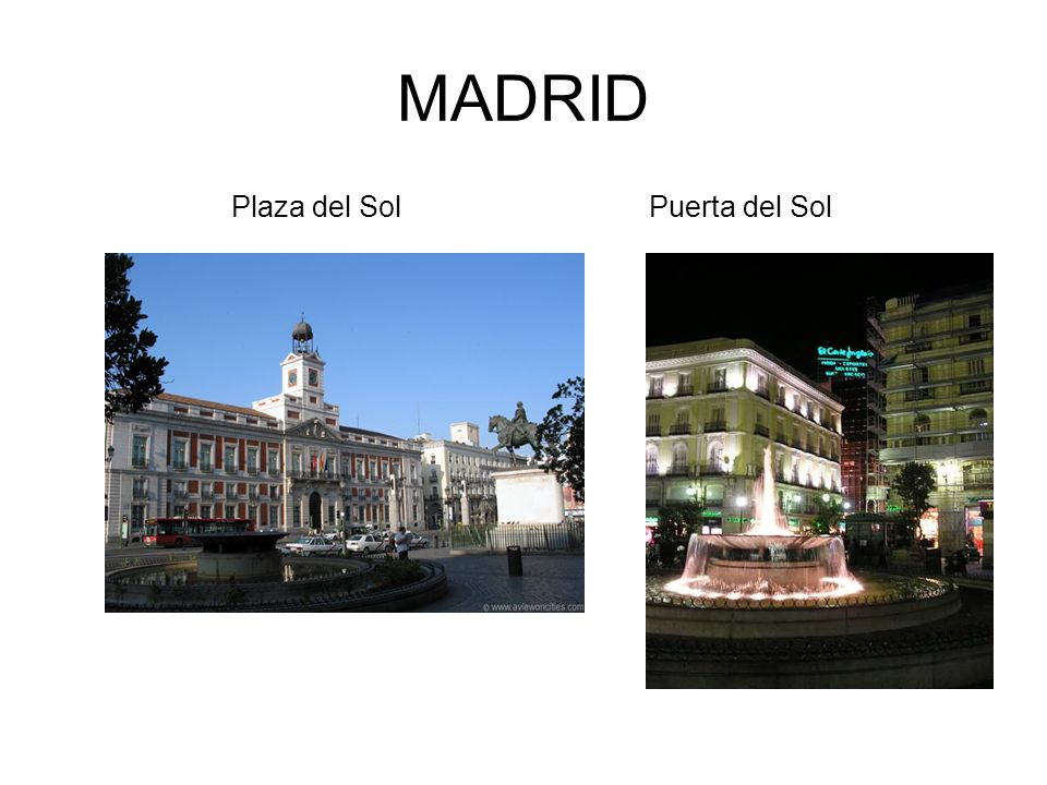 Ven conmigo a la coru a galicia ppt descargar for Plaza de sol madrid