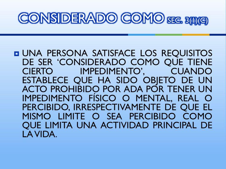 CONSIDERADO COMO SEC. 3(1)(C)