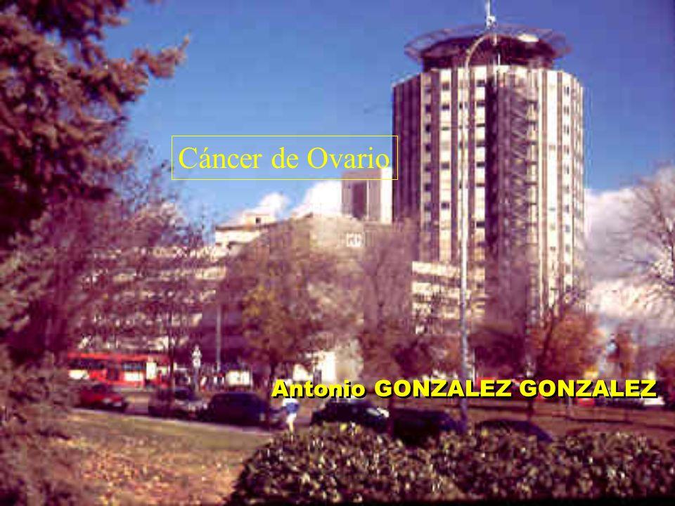 Cáncer de Ovario Antonio GONZALEZ GONZALEZ