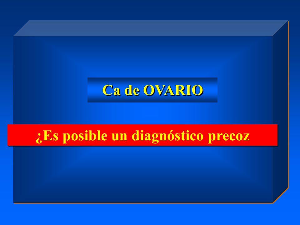 ¿Es posible un diagnóstico precoz