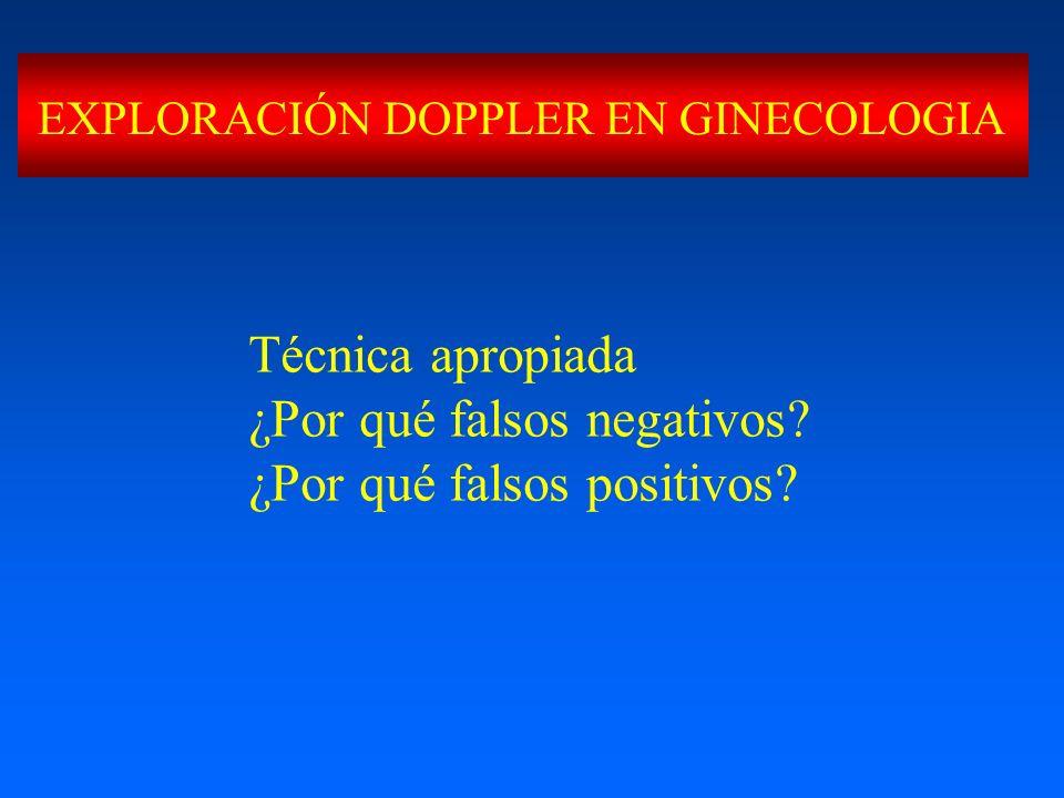 ¿Por qué falsos negativos ¿Por qué falsos positivos