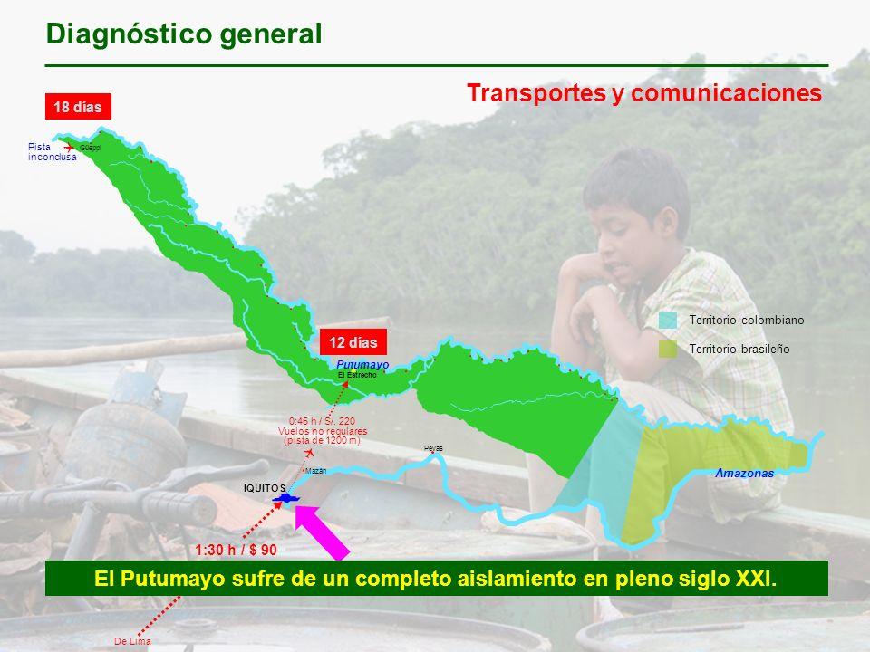 El Putumayo sufre de un completo aislamiento en pleno siglo XXI.