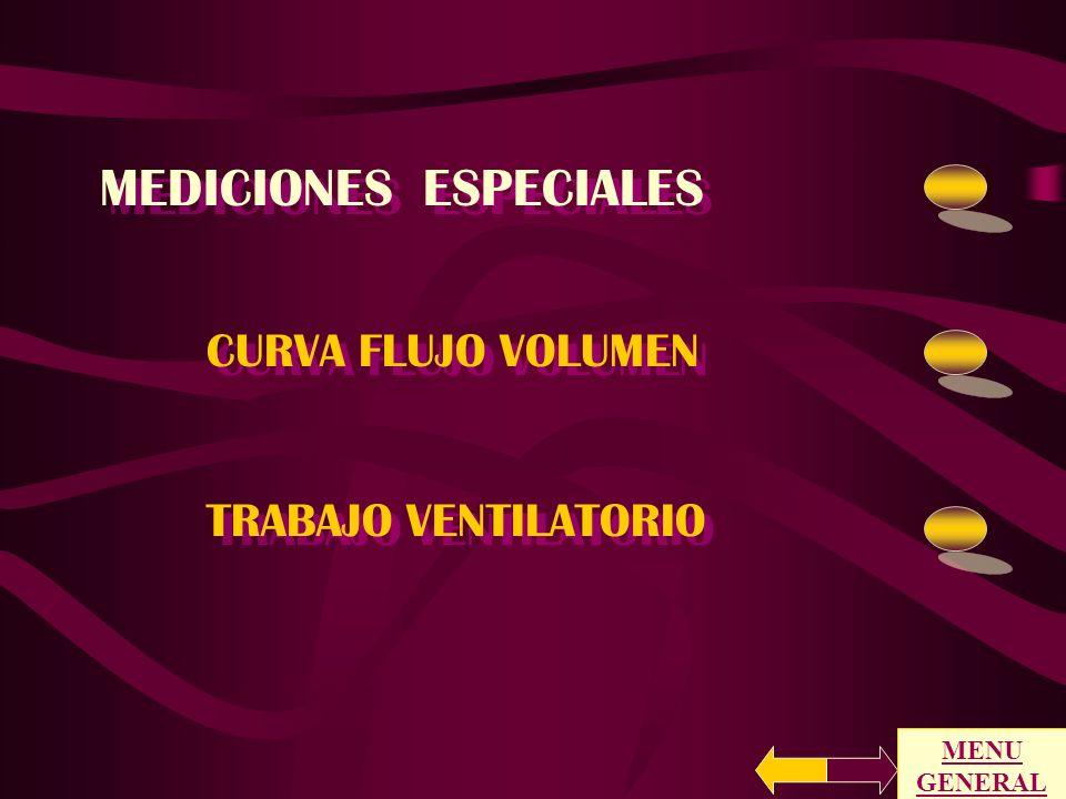 MEDICIONES ESPECIALES