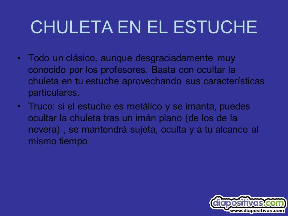 CHULETA EN EL ESTUCHE