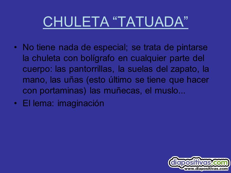 CHULETA TATUADA