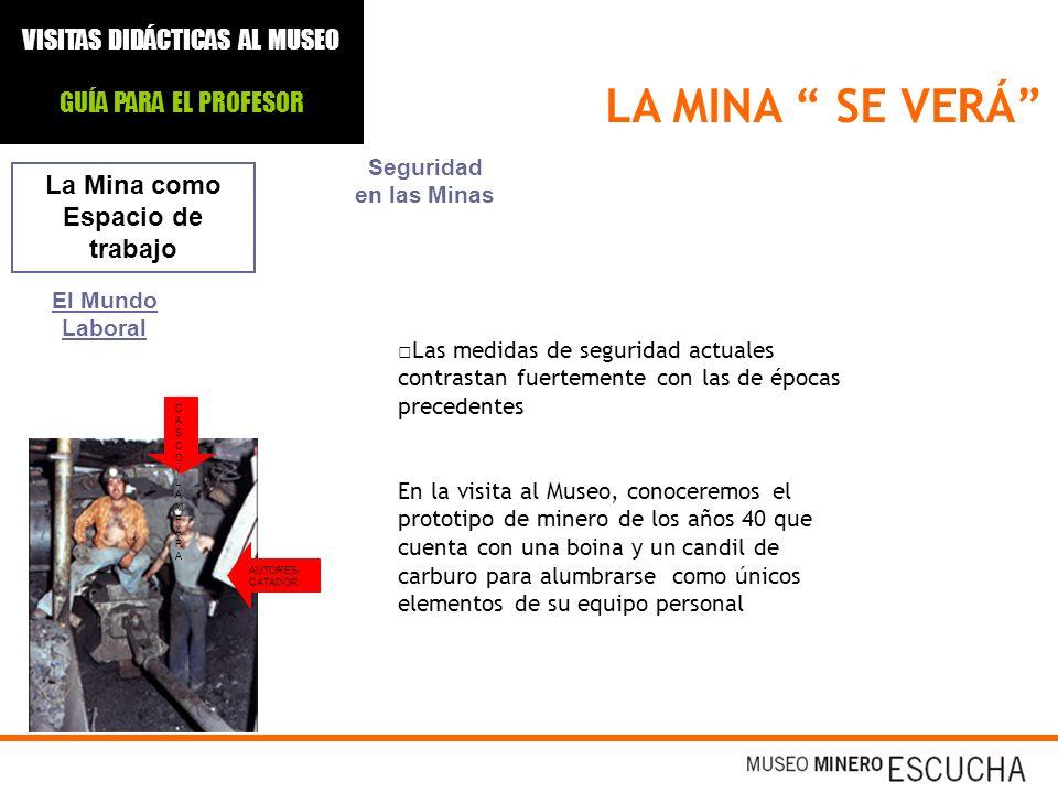 La Mina como Espacio de trabajo