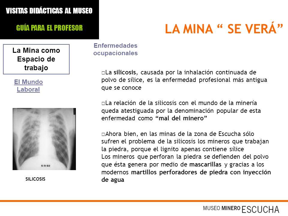 Enfermedades ocupacionales La Mina como Espacio de trabajo