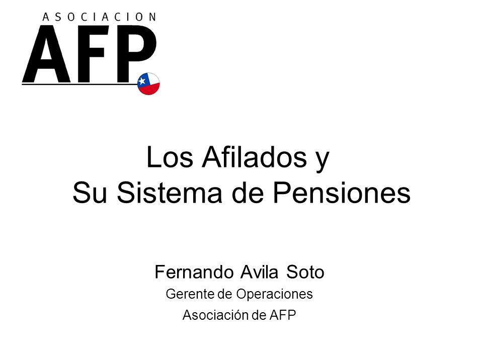 Los Afilados y Su Sistema de Pensiones
