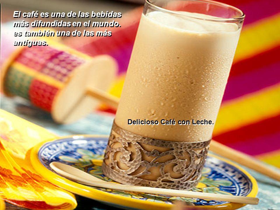 El café es una de las bebidas más difundidas en el mundo.