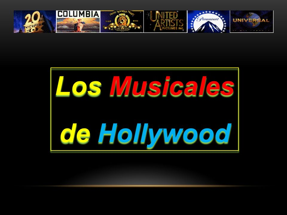 Los Musicales de Hollywood