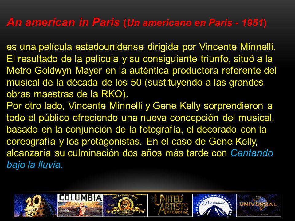 An american in Paris (Un americano en París - 1951)