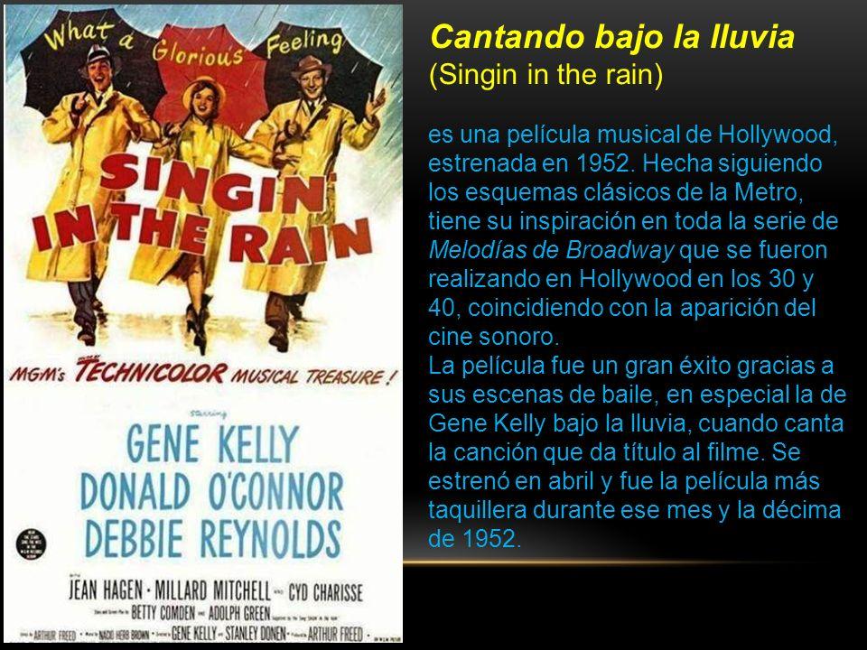Cantando bajo la lluvia (Singin in the rain)