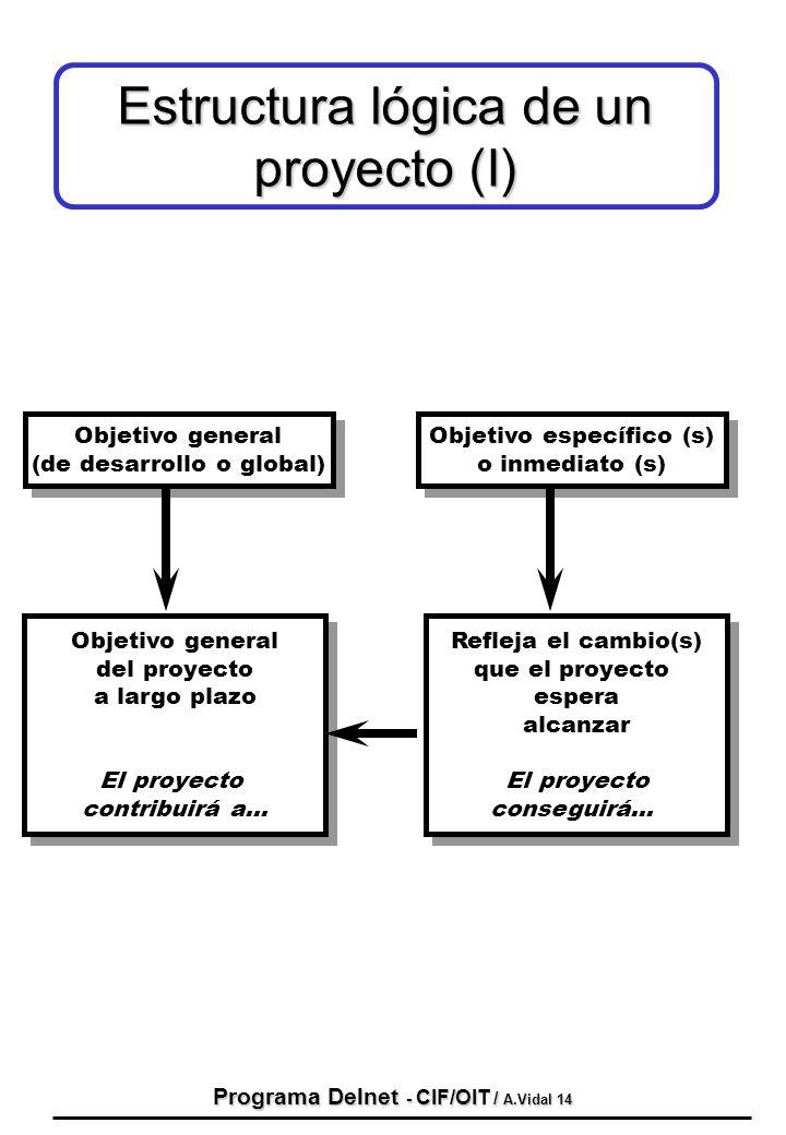 Programa Delnet - CIF/OIT / A.Vidal 14