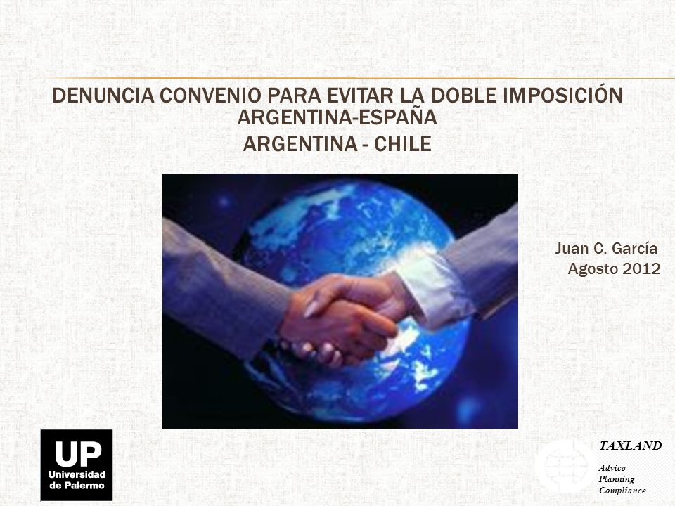 DENUNCIA CONVENIO PARA EVITAR LA DOBLE IMPOSICIÓN ARGENTINA-ESPAÑA