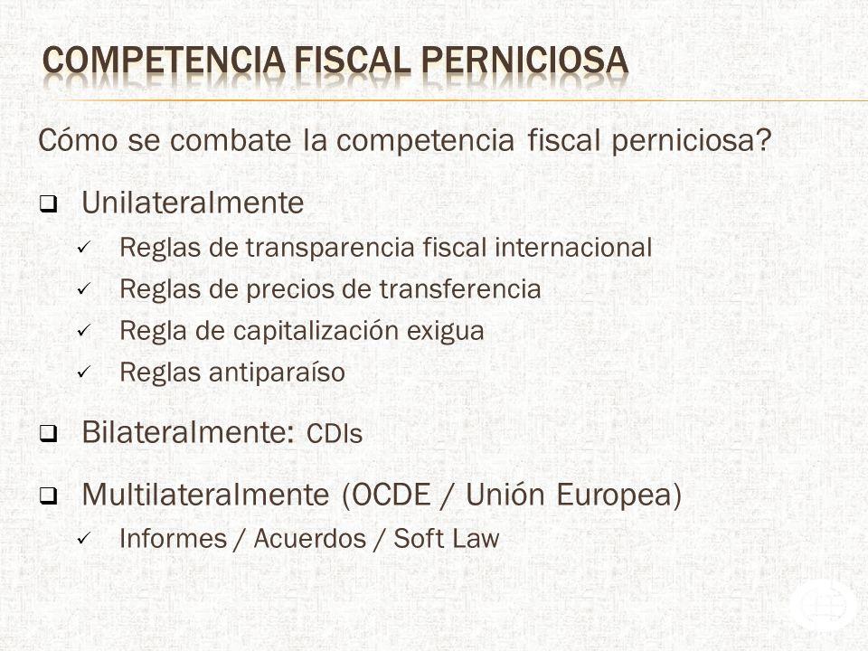 competencia fiscal perniciosa