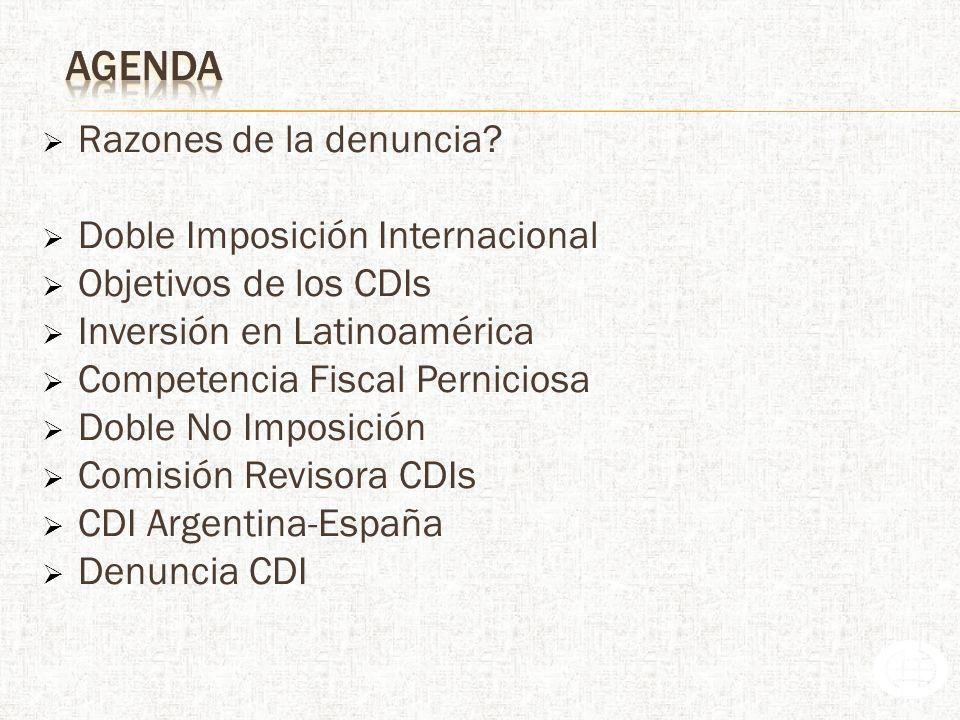 Doble Imposición Internacional Objetivos de los CDIs