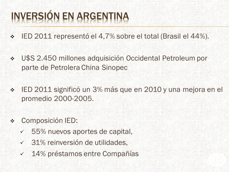 inversión en argentina
