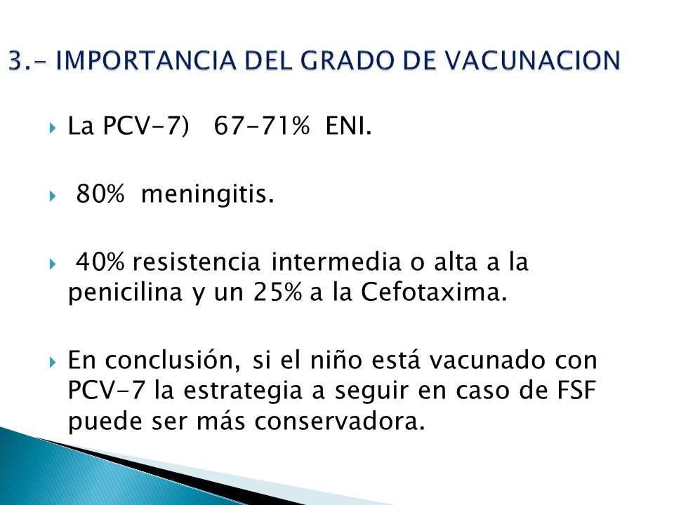 3.- IMPORTANCIA DEL GRADO DE VACUNACION