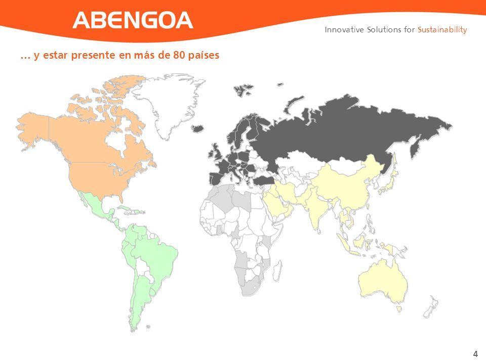… y estar presente en más de 80 países