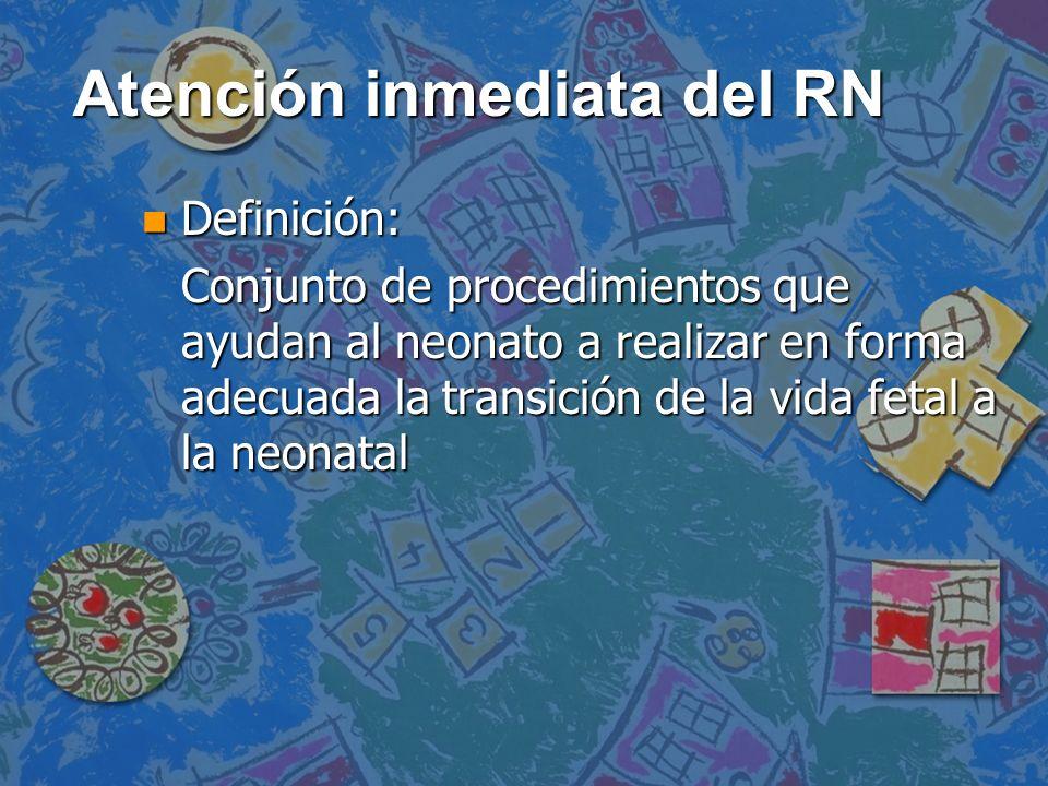 Atención inmediata del RN