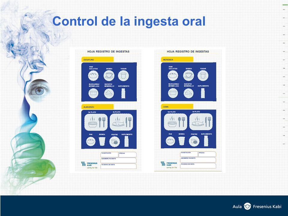 Control de la ingesta oral