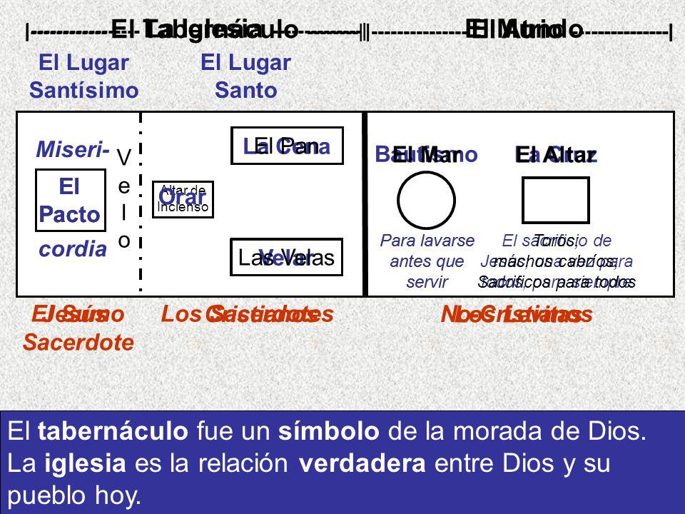 El tabernáculo fue un símbolo de la morada de Dios.